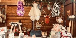 Stand Moogs au marché de Noël